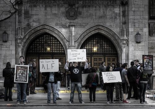 World  Protest Week Against Animals in Laboratories - Chicago