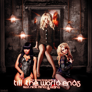 Britney Spears - Till The World Ends (the Femme Fatale Remix) feat. Nicki Minaj & Ke$ha cover