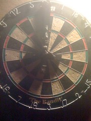 wheel(0.0), rim(0.0), bicycle wheel(0.0), dartboard(1.0), symmetry(1.0), indoor games and sports(1.0), sports(1.0), games(1.0), darts(1.0), circle(1.0),