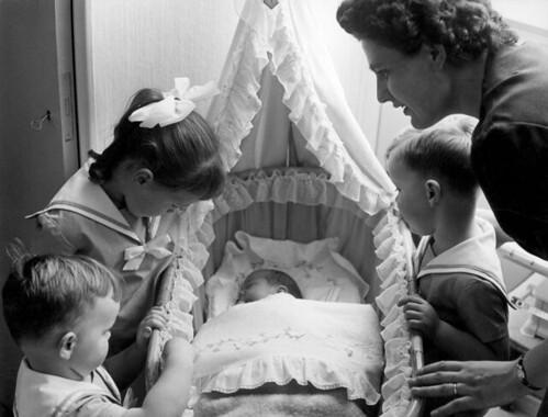 Baby in de wieg / Baby in cradle