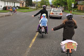 Trillium Charter School bike train-5-5