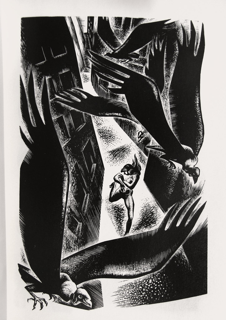 "Lynd Ward - Wood Engraving for ""Song Without Words"" 1936"