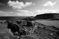 Ruin near Brother's Point, Skye