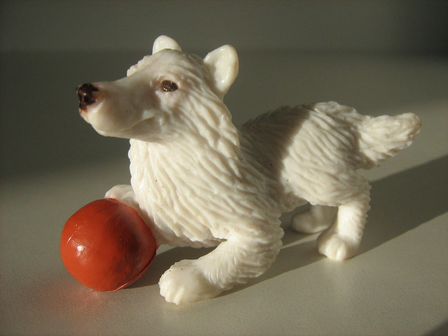 Fake Toy Dogs : Plastic toy dog collie of flickr photo sharing