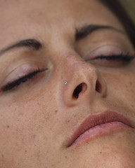 human body(0.0), eye(0.0), nose(1.0), chin(1.0), face(1.0), skin(1.0), lip(1.0), head(1.0), eyelash(1.0), cheek(1.0), eyelash extensions(1.0), close-up(1.0), wrinkle(1.0), mouth(1.0), eyebrow(1.0), forehead(1.0), beauty(1.0), organ(1.0),