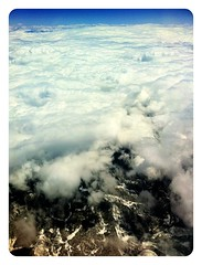 Photograph: A hole in the clouds