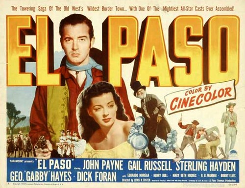 John Payne, Gail Russell poster 1949 by Movie-Fan