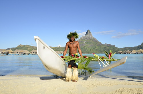 InterContinental Bora Bora  Resort & Thalasso Spa outrigger canoe