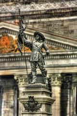 Montreal CA - Place d'Armes - Paul Chomedey de Maisonneuve