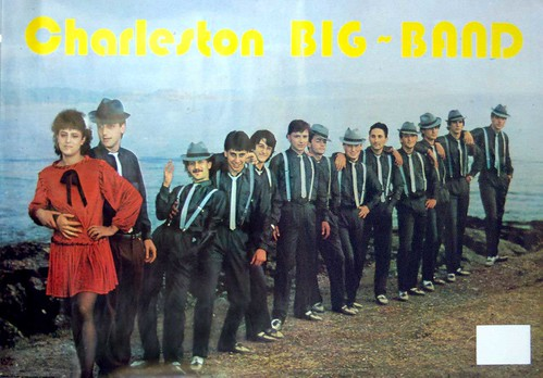 Charleston Big Band 1984 - orquesta - cartel