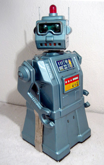 Vintage yonezawa directional robot