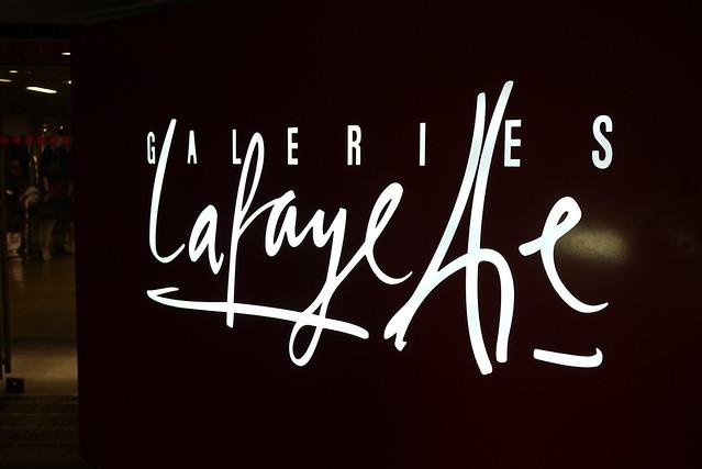 Galeries Lafayette 巴黎拉法葉百貨公司