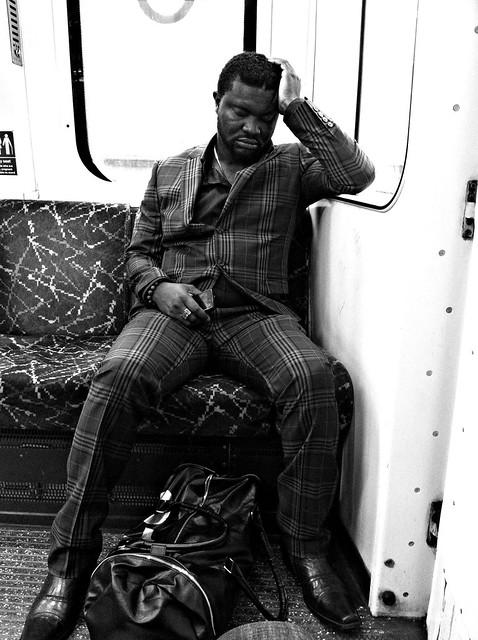 Stranger on the tube #4
