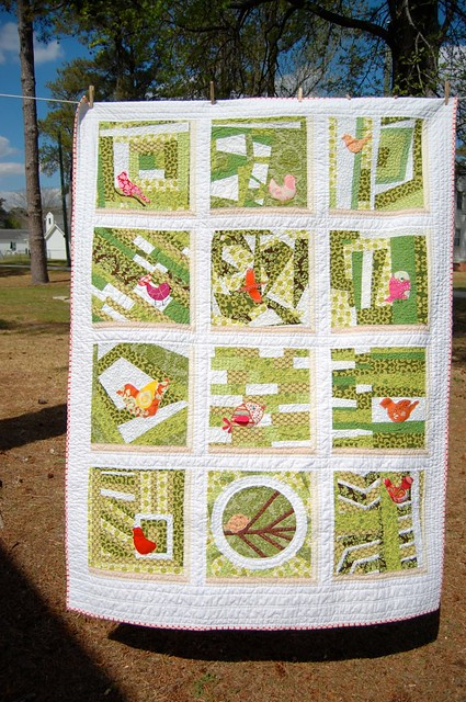 a notion or two inaugural quilt