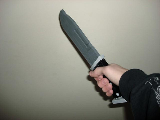 Halo 4 combat knife