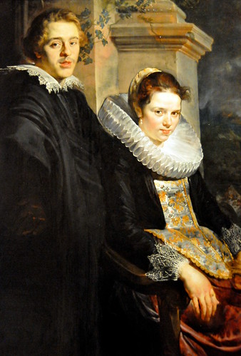 Jacob Jordaens - Portrait of a Young Married Couple at Boston Museum of Fine Arts