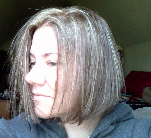 New hair cut: IT'S EVEN!