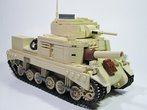 "M3 Grant Medium Tank - ""Jack The Ripper"""