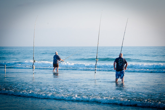 surf fishing in new smyrna beach flickr photo sharing