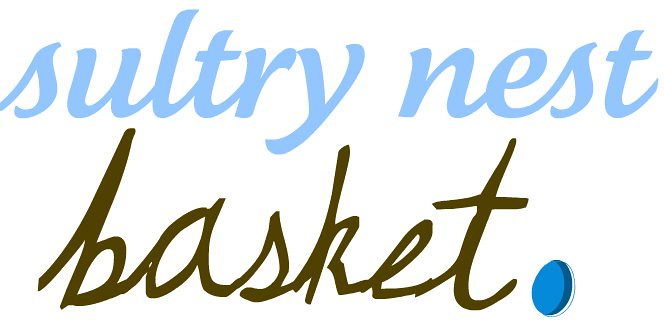 Sultry Nest Basket
