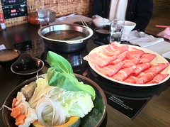meal(0.0), yakiniku(0.0), hot pot(0.0), buffet(0.0), shabu-shabu(0.0), samgyeopsal(1.0), food(1.0), dish(1.0), cuisine(1.0),
