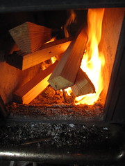 wood, fireplace, fire, darkness, flame, hearth,