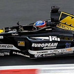 minardi Ps01 alonso