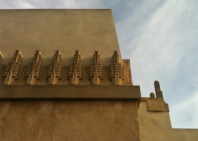 Hollyhock House by Frank Lloyd Wright