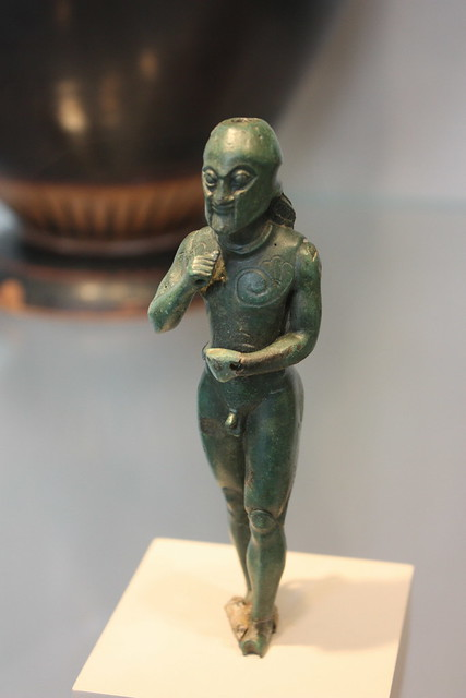Bronze hoplite foot soldier bronze hoplite foot for Foot soldier