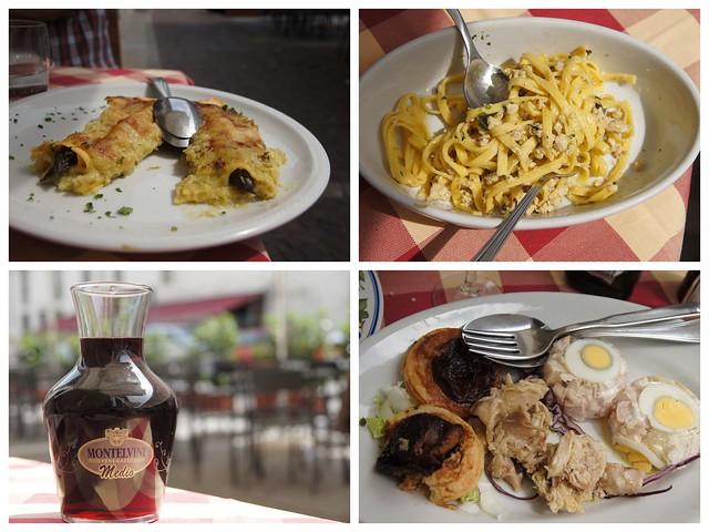 Пасхальный обед в Турине (Пьемонт)