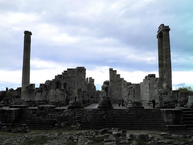 Front facade, the Didymanion, Temple of Apollo, Didyma