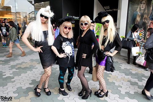 Lady Gaga Girls of Harajuku
