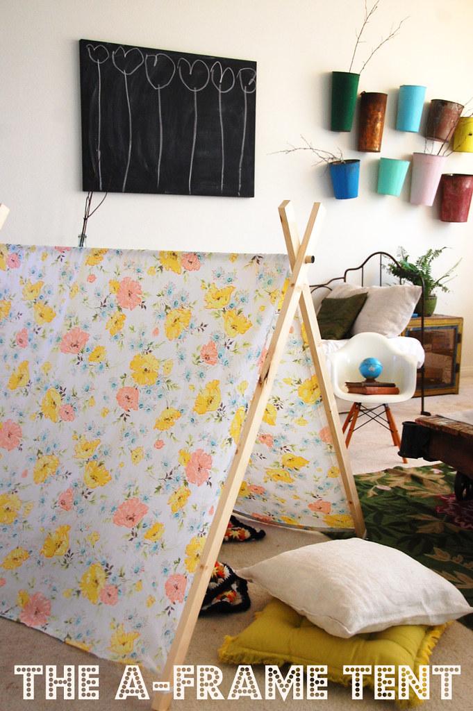diy a frame tent cakies. Black Bedroom Furniture Sets. Home Design Ideas