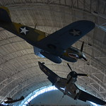 Steven F. Udvar-Hazy Center: F-4 Corsair & P-40 Warhawk