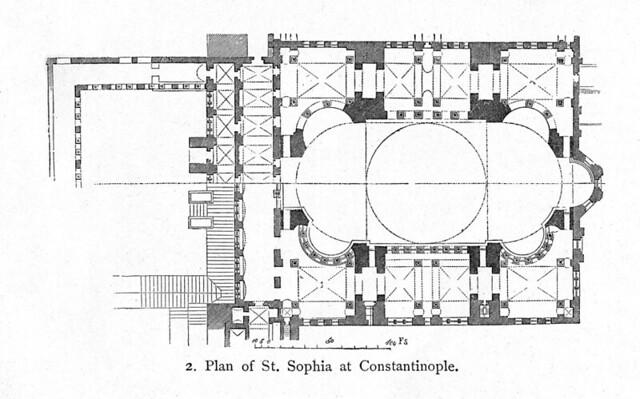 Hagia Sophia: plan | Flickr - Photo Sharing!