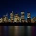 Sydney City Skyline by teejaybee