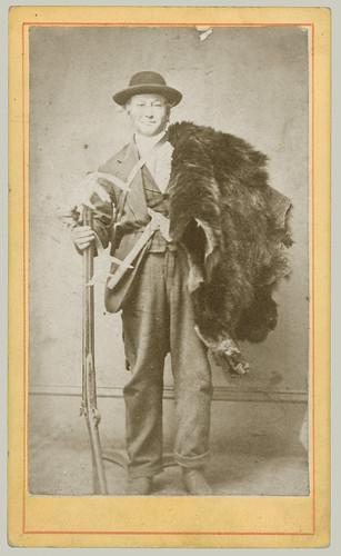 CDV man with furs