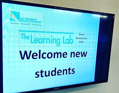 Need help with your studies? The Learning Lab in E214 offers drop-in tutoring and study groups. Stop by today! #theLWTech #LearningLab #Tutor #College #Fall4LWTech #StudentHelp