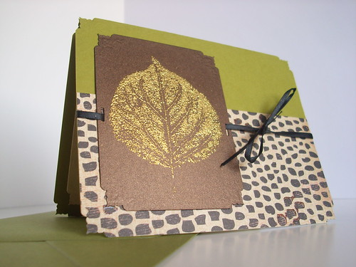 Bright Leaf All-Occasion Greeting Card