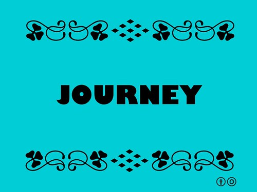 Buzzword Bingo: Journey = The act of traveling from one place to another