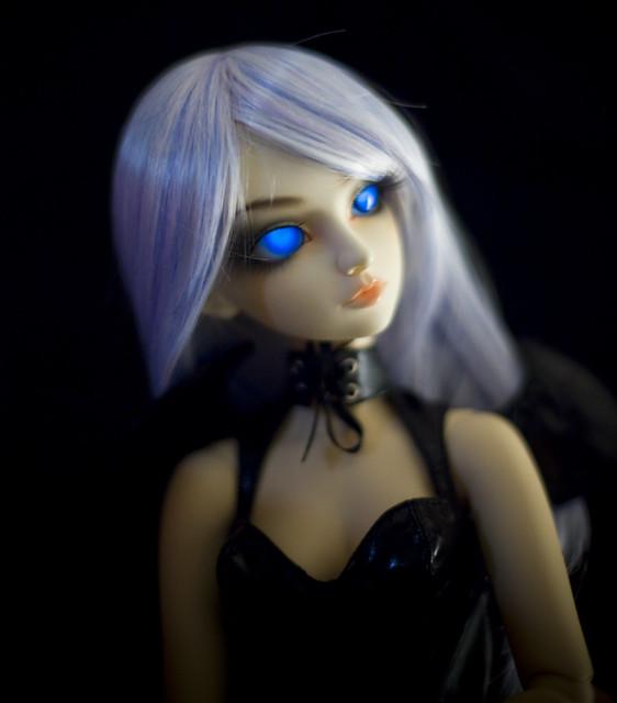 Blue Vampire - Glow in the Dark Eyes | Flickr - Photo Sharing!