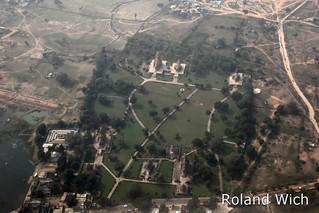 Khajuraho Temples Aerial