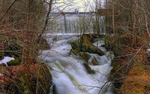 wallpaper freedom waterfall pentax dam maine hdr spillway kx sandypond 1680x1050 nd8 waldocounty