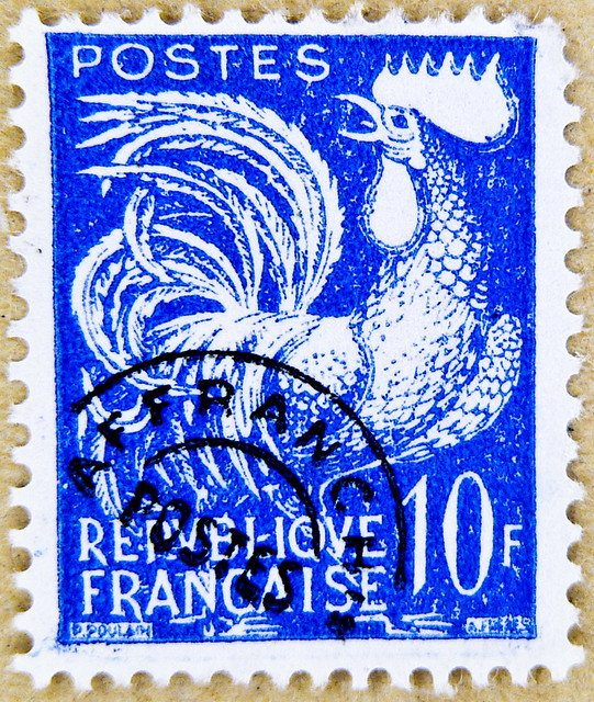 Stamps To Send Letter To France