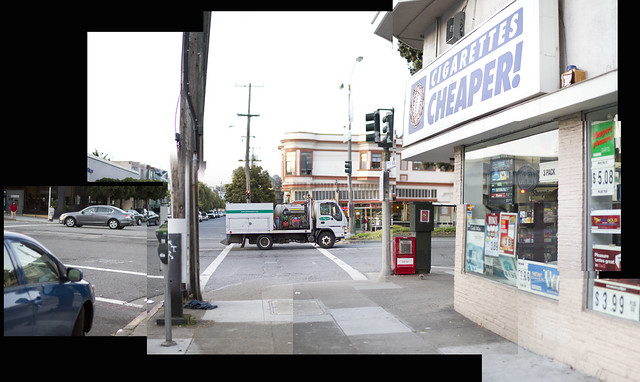 Cigarettes Cheaper on Geary St in The Richmond, San Francisco (2011)