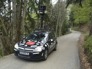 the Google Maps Car