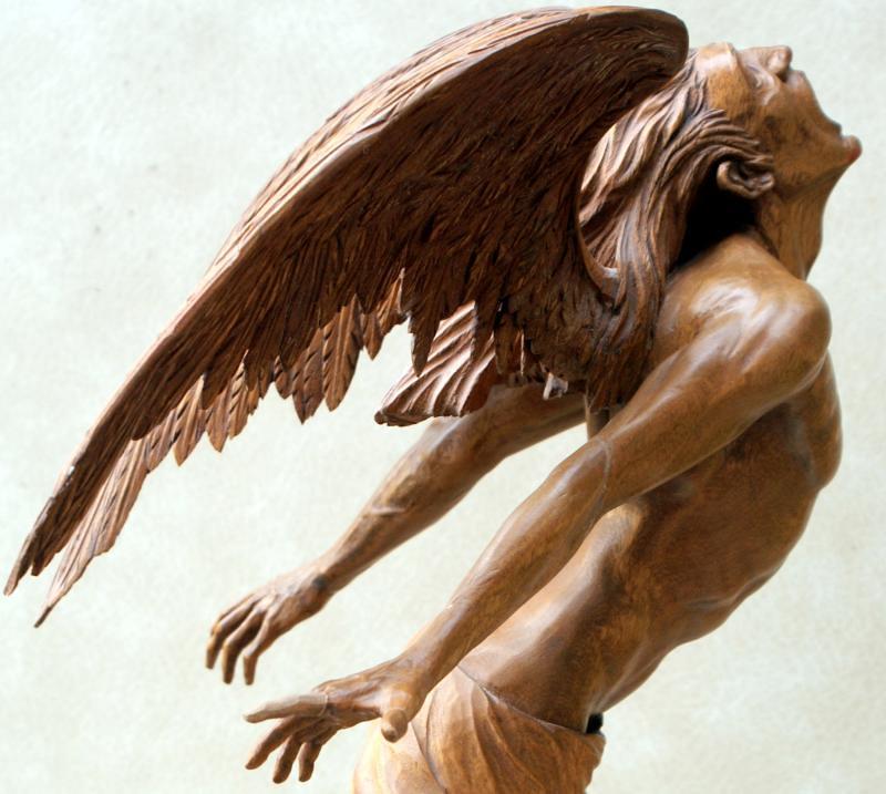 Icarus ( Ἴκαρος, Íkaros,Vikare) son of Daedalus