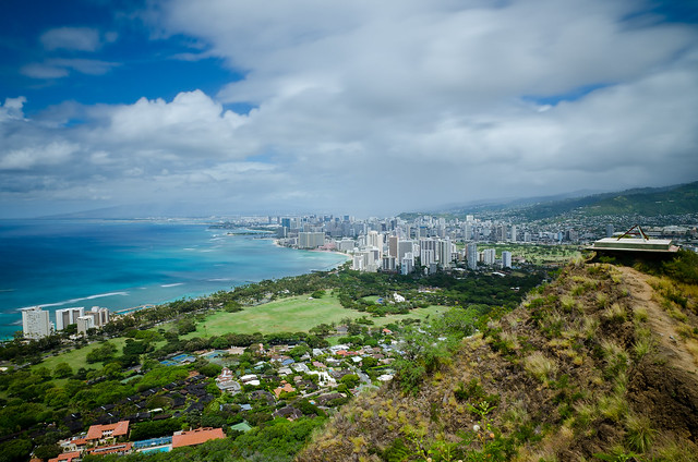 view from diamond head - photo #27
