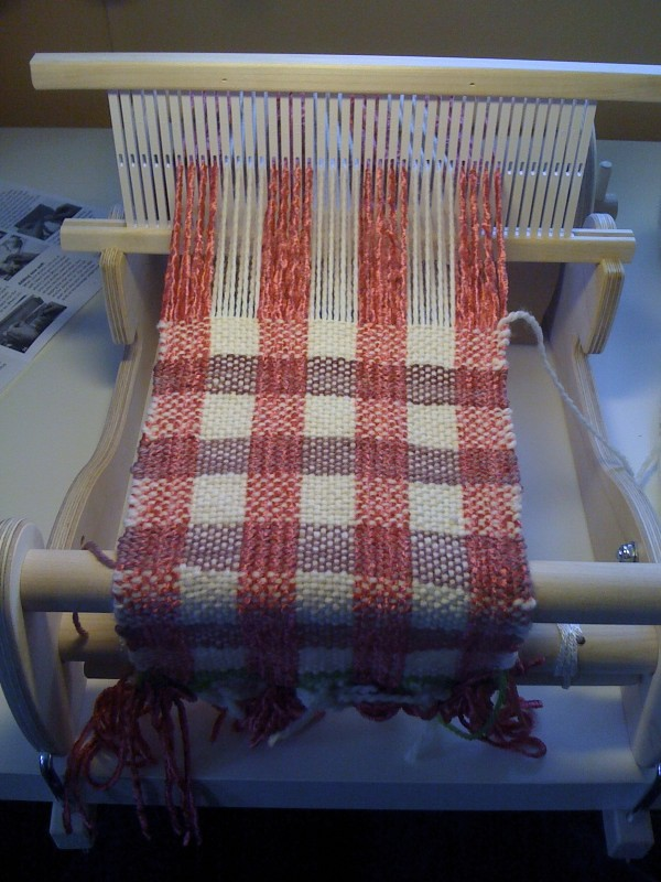 cricket loom | My second weaving project on my Schacht Crick