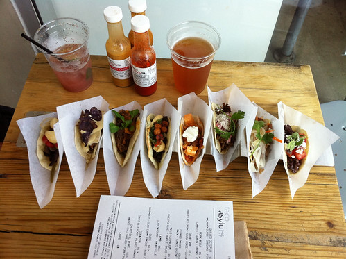 Flight of Tacos